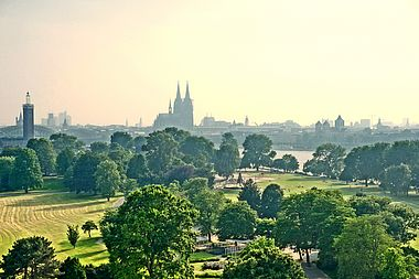 Old Town, International Landmark, Panoramic, Cologne Cathedral, Cologne, Stadtpark, Sky, Cathedral, Church, Park, City