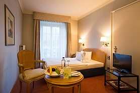 First Class Einzelzimmer | Lindner Grand Hotel Beau Rivage - Interlaken/Schweiz