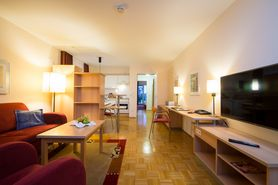 Boardinghouse 2 room apartment living room | Lindner Congress Hotel Frankfurt - Boardinghouse