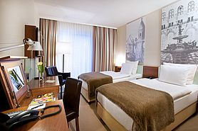 Business Class Twin | Lindner Hotel Am Michel - Hamburg