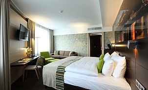 First Class Doppelzimmer | Lindner Hotel Gallery Central - Bratislava