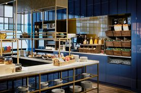 The Sky Bar at Lindner WTC Hotel & City Lounge Antwerp invites you to enjoy coffee, tea and cake