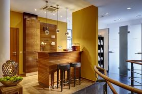 Wellness spa reception  | Lindner Hotel & Residence Main Plaza - Frankfurt