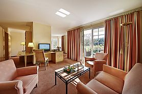 First Class Doppelzimmer | Lindner Hotel & Sporting Club Wiesensee