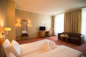 First Class Doppelzimmer | Lindner Grand Hotel Beau Rivage - Interlaken/Schweiz