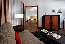 First Class double room  | Lindner Hotel & Residence Main Plaza - Frankfurt