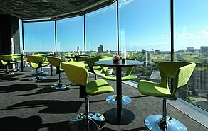 Outlook Bar & Lounge | Lindner Hotel Gallery Central - Bratislava