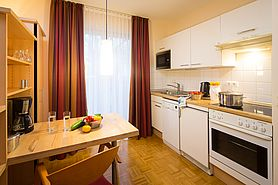 Boardinghouse 2 room apartment kitchen | Lindner Congress Hotel Frankfurt - Boardinghouse