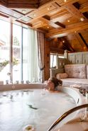 Private spa bath  | Lindner Parkhotel & Spa - Oberstaufen