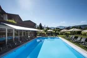External pool | Lindner Parkhotel & Spa Oberstaufen