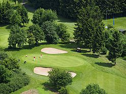 Aerial photograph golf course  | Lindner Hotel & Sporting Club Wiesensee