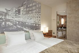 Economy Class double room  | Lindner Hotel Am Michel - Hamburg