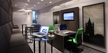 Business Lounge | Lindner Hotel City Plaza - Koeln