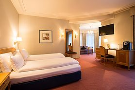 First Junior Suite | Lindner Grand Hotel Beau Rivage - Interlaken/Schweiz
