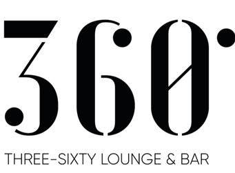 Logo der  360 Grad Three Sixty Lounge und Bar im World Trade Center Antwerp im Lindner Hotel