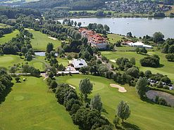 Exterior view aerial photo | Lindner Hotel & Sporting Club Wiesensee