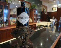 Enjoy original Hendrick's gin and other drinks at Harry's New York Bar.