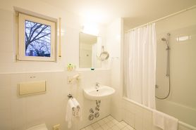 Boardinghouse 2 room apartment bathroom | Lindner Congress Hotel Frankfurt - Boardinghouse