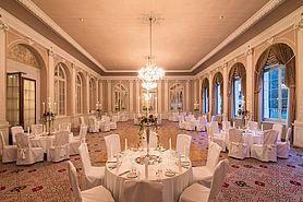 Salle de bal Belle Epoque | Lindner Grand Hotel Beau Rivage - Interlaken/Schweiz