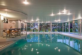 Pool | Lindner Grand Hotel Beau Rivage - Interlaken/Schweiz