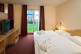 Boardinghouse 2 room apartment sleeping area | Lindner Congress Hotel Frankfurt - Boardinghouse