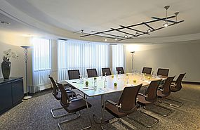 Business Lounge | Lindner Hotel Airport - Duesseldorf