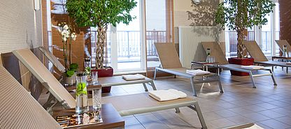 Wellness Ruheraum | Lindner Hotel Am Michel - Hamburg