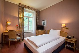 Classic Single | Lindner Grand Hotel Beau Rivage - Interlaken/Schweiz