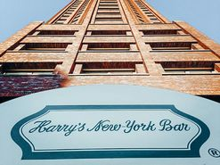 Come in, Harry's New York Bar Frankfurt is located downstairs at the Lindner Hotel & Residence Main Plaza