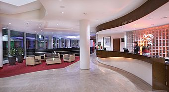 Lobby, Rezeption | Lindner Congress Hotel - Cottbus
