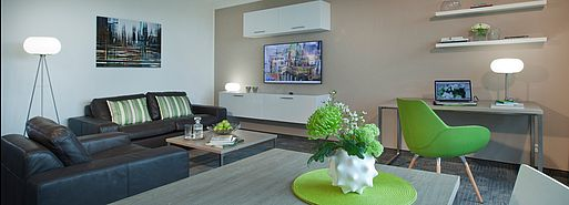 Comfort Apartment 2-Zimmer | Lindner Boardinghouse Messe Residence - Duesseldorf